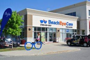 exterior of Beach Eye Care in Wasaga Beach, ON